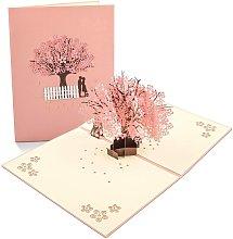 Tarjeta 3D, tarjeta emergente, tarjeta de