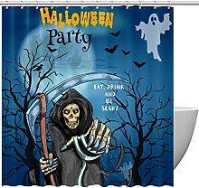 Tarjeta de invitación para fiesta de Halloween,