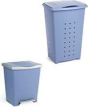 Tatay Millenium - Cesto de ropa y cubo de basura