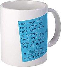 Taza de 11 onzas Greys Anatomy Post It Mug S