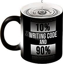 Taza de café de decoloración programador de