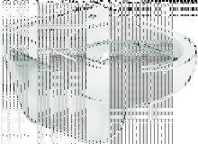 Taza para inodoro de porcelana suspendido con