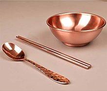 Tazón de cobre Puro Tazón de cobre Vajilla Hogar