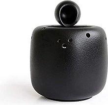 TEAYASON Fuente de cerámica para mesa o agua,