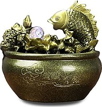 TEAYASON Fuente de escritorio de decoración de