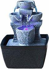 TEAYASON Fuentes de Mesa Fuente de Agua Simple