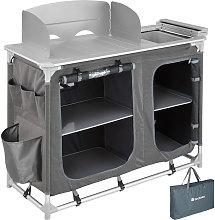 Tectake - Cocina de camping 116x52x107cm - cocina