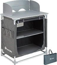 Tectake - Cocina de camping 76x53,5x107cm - cocina