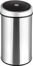 Tectake - Cubo de basura con sensor - cubo de