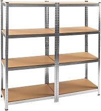 Tectake - Estantería para taller con 8 estantes -