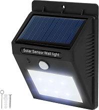Tectake - Foco solar LED con sensor de movimiento