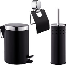 Tectake - Set para el WC de 3 piezas - conjunto de