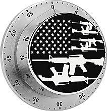 Temporizador mecánico con pistola de bandera