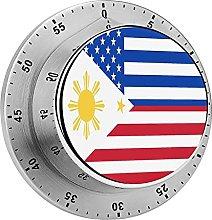 Temporizador mecánico de la bandera filipino