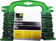 Tendedero Sencys - Green PVC - 4 mm x 25 m