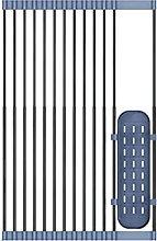 TENKY Estante telescópico plegable de acero