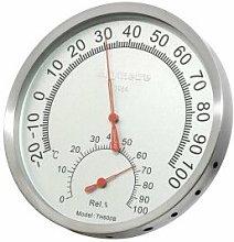 Termómetro para sauna RENTO color aluminio cobre