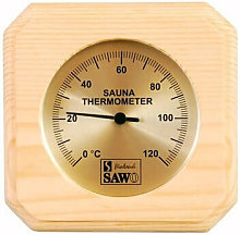 Termómetro SAWO Sauna en pino