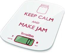 Terraillon Neocook Jam Keep Calm White 6 kg -