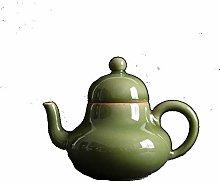 Tetera Celadon, juego de té de cerámica, té