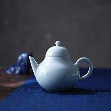 Tetera Celadon Juego de té de tetera con filtro