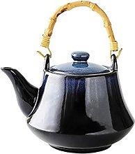 Tetera china tradicional cerámica taza taza té