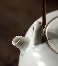 Tetera de cerámica de cerámica de agua hirviendo