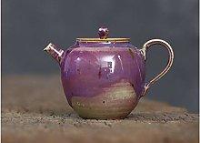 Tetera de gres de cerámica tetera tetera artesanal
