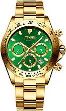 TEVISE T822A Hombres de negocios Reloj mecanico