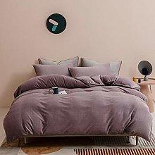 Textiles del hogar,Funda de edredón de franela