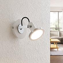 Theda foco LED, blanco, 1 luz - Lindby