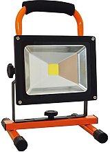 Tibelec 348060–Foco de obra LED (recargable,