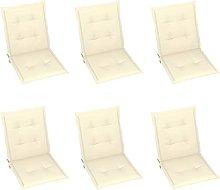 Tidyard Cojines para sillas de jardín Cojines
