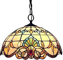 Tiffany Colgante de Luz Vendimia Diseño Sala