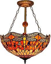 Tiffany - Lámpara De Techo De Montaje Semi