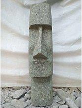 Tiki moái de Oceanía estatua jardín de piedra