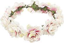 TININNA Diadema Guirnalda de Flor,Elegante Floral