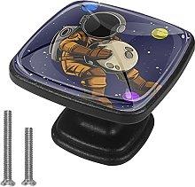 Tirador De Cajón Con Tornillos Planeta Cosmonauta