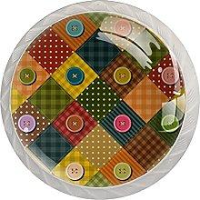 Tirador para Muebles Multicolor Perilla del Cajón