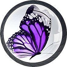 Tiradores Armario Mariposa Colorida Tirador de