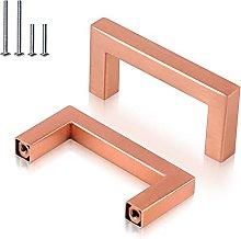 Tiradores de armario, centro del agujero, cobre