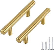 Tiradores de muebles dorados para muebles, 30