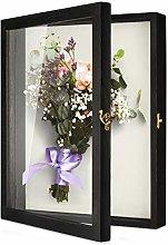 TJ.MOREE Caja de sombra de flores Vitrina 35 x
