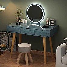 Tocador moderno para dormitorio con espejo Lde y