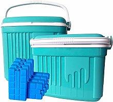 ToCi - Juego de 2 cajas de refrigeración pasivas