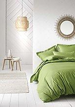 Today - Funda nórdica (260 x 240 cm), Color Verde