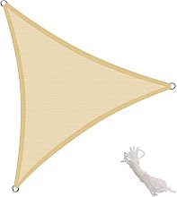 Toldo Vela Triangular 3x3x3m Vela de Sombra para