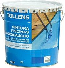 Tollens - Pintura Piscinas al Clorocaucho 15 L  