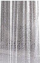 TONGTONG 3D adoquines impermeable cortina de ducha