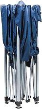 Tools Cenador plegable azul 3x3 m - Azul - Draper